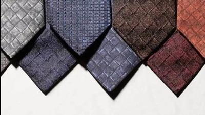 选对这10款男士领带,为你的婚礼锦上添花