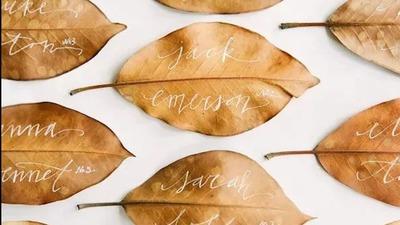 超火的8种ins风创意婚礼签到方式,你会pick哪个?