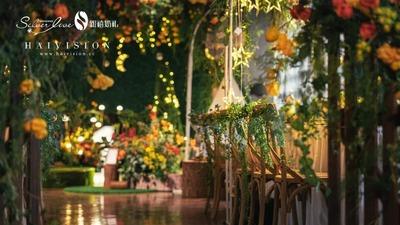 那些在婚礼上的宫崎骏元素,一场充满吉卜力色彩的可爱婚礼
