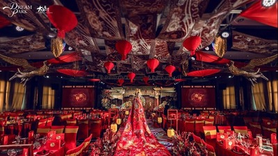 复古国潮中式新元素婚礼