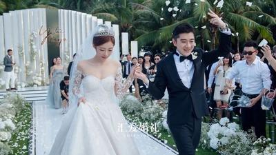 王以太三亚婚礼全程解析,那个唱《目不转睛》的男孩,结婚啦