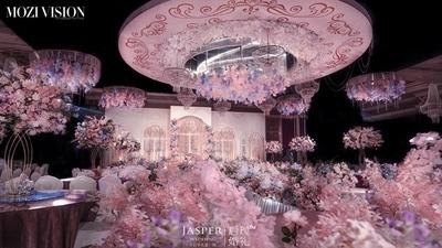 粉蓝色系婚礼