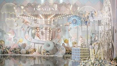 迪士尼在逃公主现身婚礼现场,竟是粉色园游会
