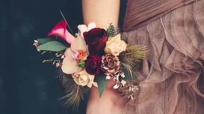 完美的婚礼,就连新娘手腕花也要美到极致