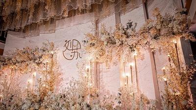 浪漫而温馨的韩式主题婚礼