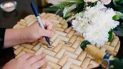 分享婚礼签到的N种创意方式
