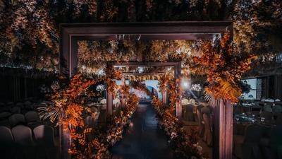 秋色主题婚礼