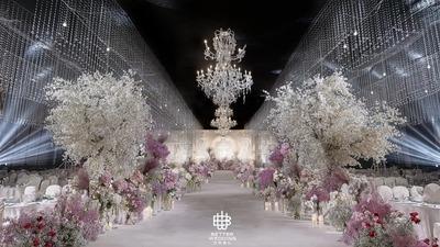 韩式与欧式巴洛克风格完美结合的婚礼