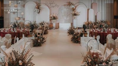 一场奶茶色系的泰式婚礼