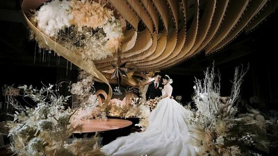 香槟金色系婚礼