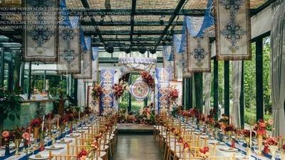 一场充满民族特色风情的婚礼