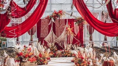 南波西米亚的异域风情婚礼