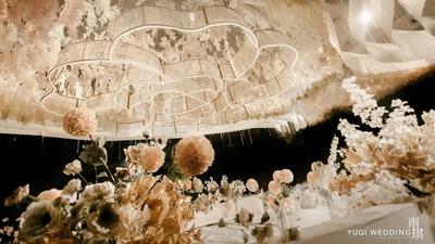 温馨浪漫的香槟色系婚礼