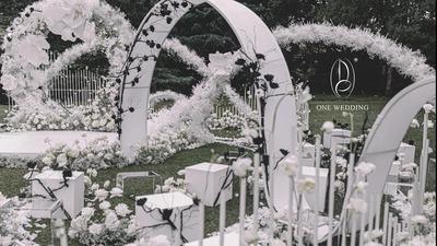 一场结合了艺术性和故事性的婚礼