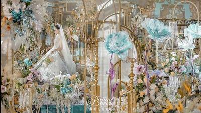 梦幻而甜蜜的洛丽塔主题婚礼