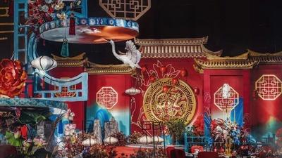 充满了仪式感和文化韵味的中式婚礼
