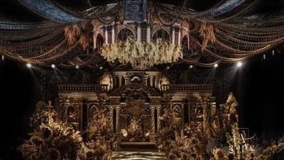 奢靡华丽的欧式古堡婚礼