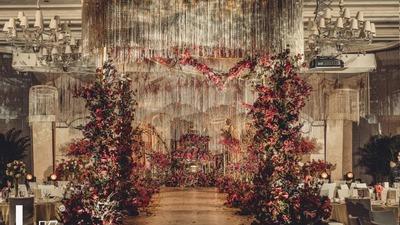 古典唯美的拜占庭宫廷风婚礼
