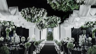 干净又通透的高级感韩式婚礼