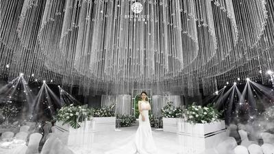 晶莹而又璀璨的水晶主题婚礼