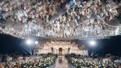 典雅高贵的空中花园主题婚礼