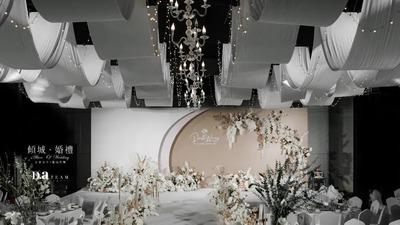 现代简约风的高级感韩式婚礼