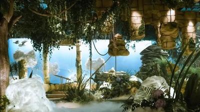 天空之城主题的森系婚礼