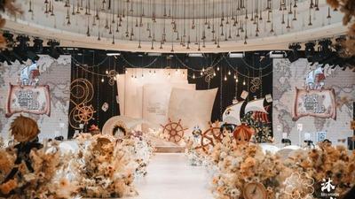 氛围感极强的海贼王主题婚礼
