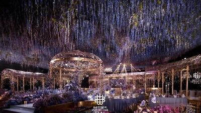 如梦境般的法式皇家花园婚礼