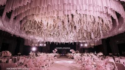 童话般的粉色公主梦主题婚礼