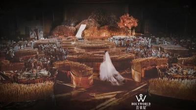 回归自然的沉浸式麦田主题婚礼