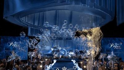 蓝色海洋主题婚礼