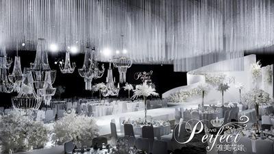 白色水晶主题婚礼