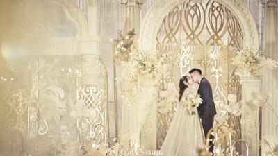 轻奢哑金属质感的巴洛克风格宫廷婚礼