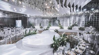 摩印一站式婚嫁体验中心:高级又不失璀璨优雅的清新法式风格婚礼