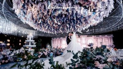 充满了诗意与浪漫的凡尔赛古堡花园婚礼