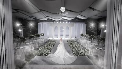 去繁从简回归设计本质的现代简约风婚礼