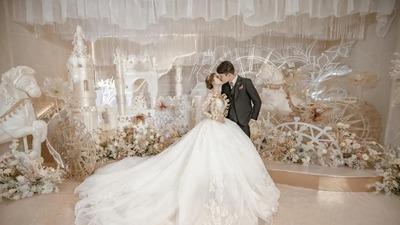 甜美且浪漫的童话游乐园主题婚礼