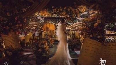 充满童话色彩的梦幻仙境主题婚礼