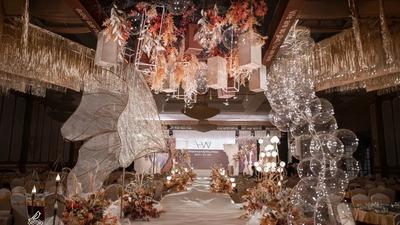既舒适又典雅的现代复古风中式婚礼