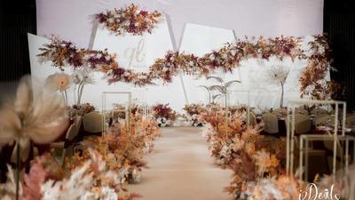 一场简约温暖又富有设计感的婚礼