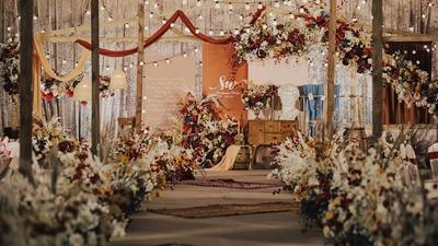 回归自然的复古美式乡村风婚礼