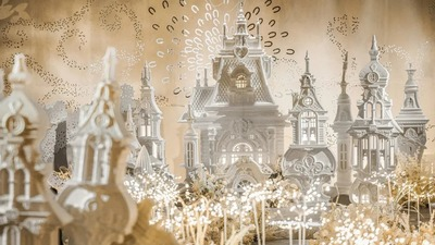 呈现出贵族风范的童话城堡主题婚礼