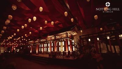 用沉浸式的古风意境 呈现一场盛唐宫宴的国风婚礼