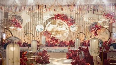 显露出岁月沉淀美感的新中式婚礼