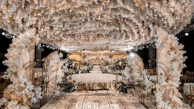 优雅复古又充满质感的欧式宫廷风婚礼