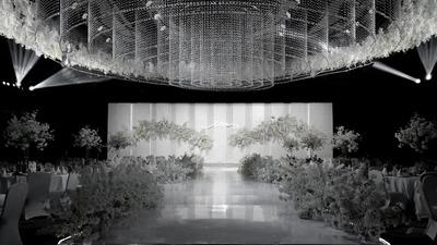 赋予了奢华与浪漫气质的高级感韩式婚礼