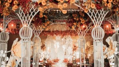 一场浪漫且梦幻的童话城堡主题婚礼