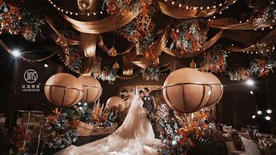 色彩鲜亮明艳的摩洛哥异域风情婚礼