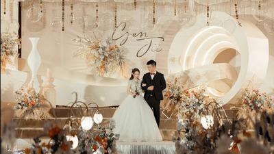 温馨浪漫又彰显质感的香槟色系婚礼